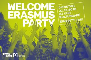 ★ Welcome Erasmus Party ★