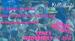 Crazy Wednesday: Vibes Mit Peck (Funk Soul Jazz)