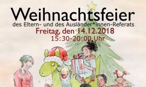 Weihnachtsfeier des Eltern- und Ausländer*innen-Referats