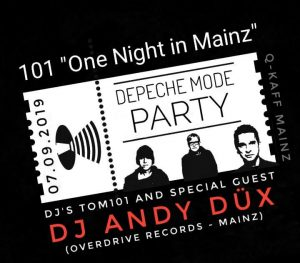 "101 ""One Night in Mainz"" Depeche Mode Party with Andy Düx"