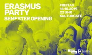 ★ Erasmus Party | Semester Opening ★