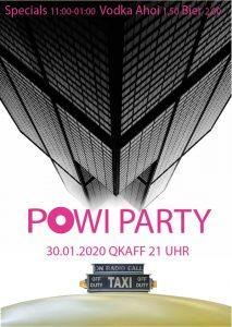 DISCO TAXI Vol. 3 | die PoWi Party