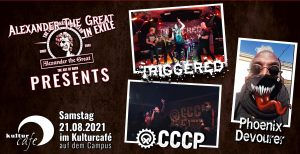 Live on Stage: CCCP, Triggered & Phoenix Devourer